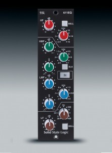 Solid State Logic E-Series 4-Band Parametric Equalizer.